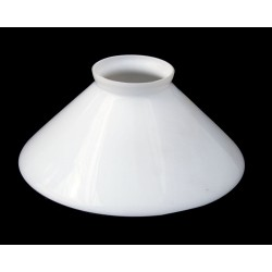 Conical Opal Glass Shade