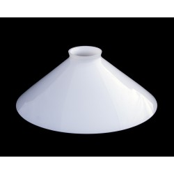 Opal White Conical Shade