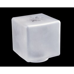 Frosted Cube Shade